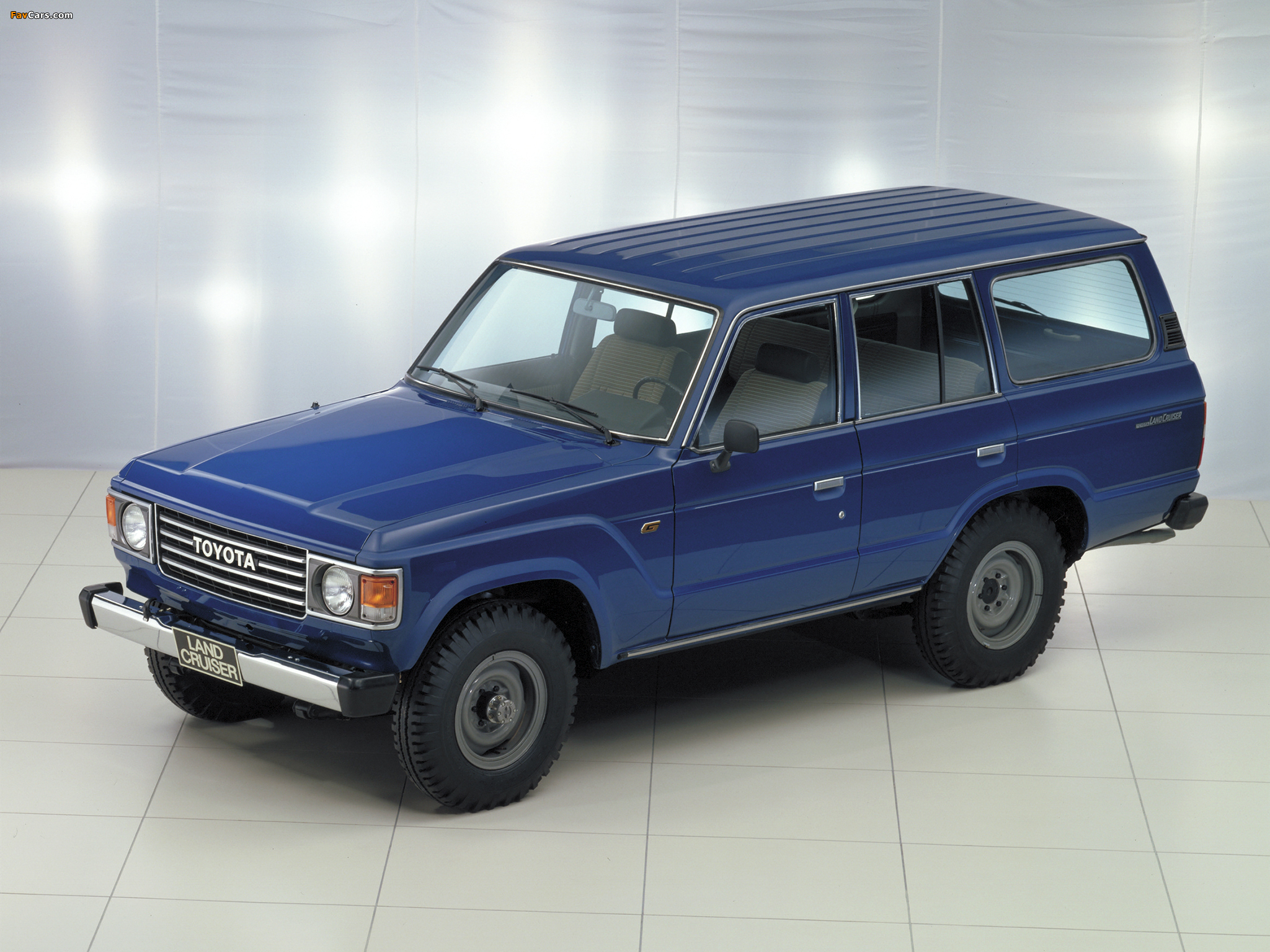 Toyota Land Cruiser 1980 >> Pictures of Toyota Land Cruiser 60 Wagon (HJ60V) 1980–87 ...