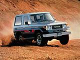 Pictures of Toyota Land Cruiser (BJ71V) 1985–90