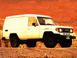 Pictures of Toyota Land Cruiser Van (J75) 1986–90