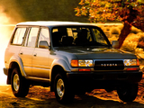 Pictures of Toyota Land Cruiser 80 US-spec (HZ81V) 1989–94