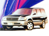 Pictures of Cketch Toyota Land Cruiser 100 1994