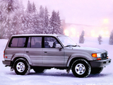 Pictures of Toyota Land Cruiser 80 US-spec (HZ81V) 1995–97