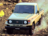Pictures of Toyota Land Cruiser Pickup (J79) 1999–2007
