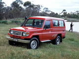 Pictures of Toyota Land Cruiser Troop Carrier (J78) 1999–2007