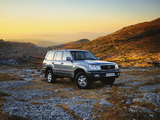 Pictures of Toyota Land Cruiser 100 50th Anniversary 2001