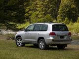 Pictures of Toyota Land Cruiser 200 US-spec (URJ200) 2007–12