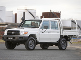 Pictures of Toyota Land Cruiser Double Cab Chassis WorkMate (VDJ79) 2012