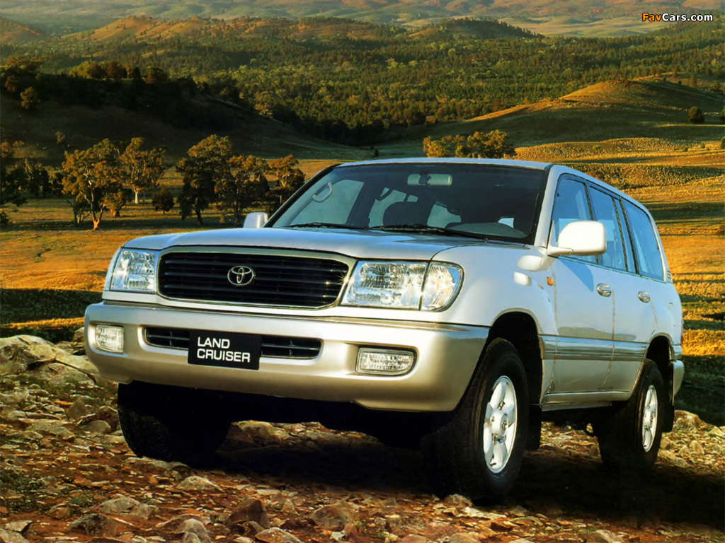 toyota land cruiser 100 series 105 отзывы