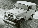 Toyota Land Cruiser (BJ40VL) 1973–79 images
