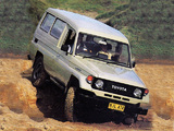 Toyota Land Cruiser (J75) 1986–90 pictures