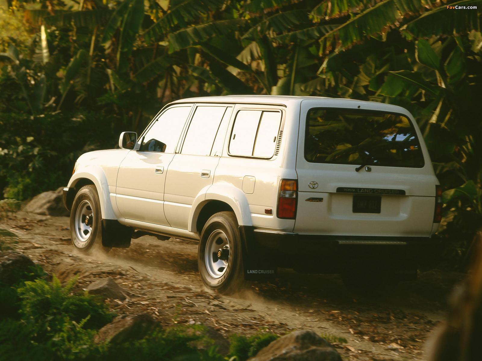 Toyota Land Cruiser 80 US-spec (HZ81V) 1989–94 wallpapers (1600 x 1200)