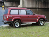 Toyota Land Cruiser 80 Customwagon 1991–97 wallpapers