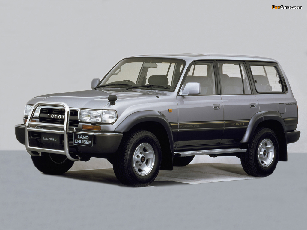 Toyota Land Cruiser 80 Wagon Vx Limited Jp Spec Hz81v