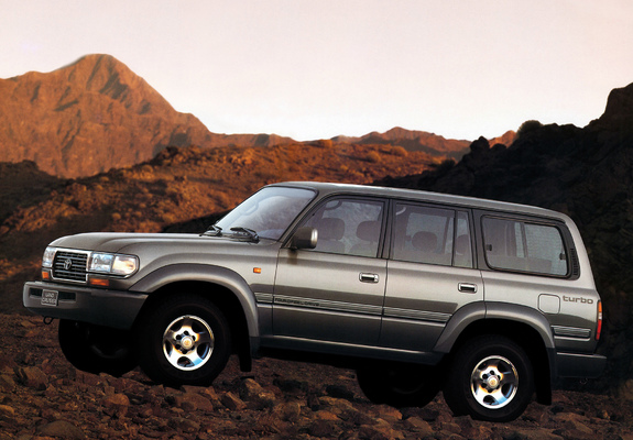 Toyota Land Cruiser 80 Vx Hz81v 1995 97 Wallpapers