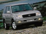 Toyota Land Cruiser 100 VX (J100-101) 1998–2002 images