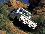 Toyota Land Cruiser Pickup ZA-spec (J79) 1999–2007 pictures