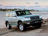 Toyota Land Cruiser 100 50th Anniversary AU-spec (J100-101) 2001 images