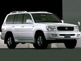 Toyota Land Cruiser 100 50th Anniversary JP-spec (J100-101) 2001 pictures