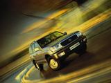 Toyota Land Cruiser 100 50th Anniversary 2001 wallpapers