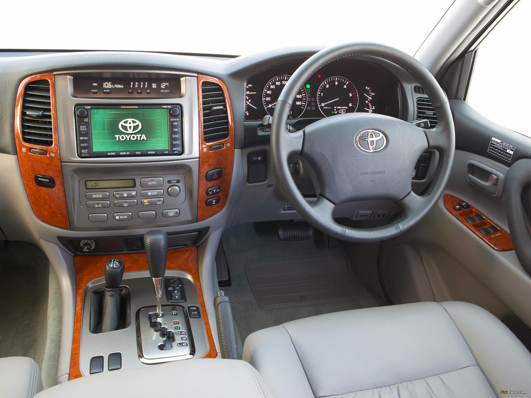Toyota Land Cruiser 100 Sahara Td Au Spec Hdj101k 2005