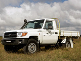 Toyota Land Cruiser Cab Chassis WorkMate (J79) 2007 pictures