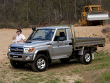 Toyota Land Cruiser Cab Chassis GXL (J79) 2007 wallpapers
