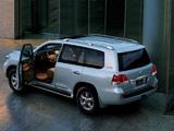 Toyota Land Cruiser 200 60th Anniversary UAE-spec (UZJ200) 2011 photos