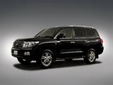 Toyota Land Cruiser 200 60th Anniversary JP-spec (UZJ200) 2011 pictures