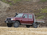 Toyota Land Cruiser Double Cab Chassis WorkMate (VDJ79) 2012 photos