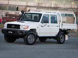 Toyota Land Cruiser Double Cab Chassis WorkMate (VDJ79) 2012 pictures