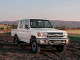 Toyota Land Cruiser Double Cab ZA-spec (J79) 2012 wallpapers