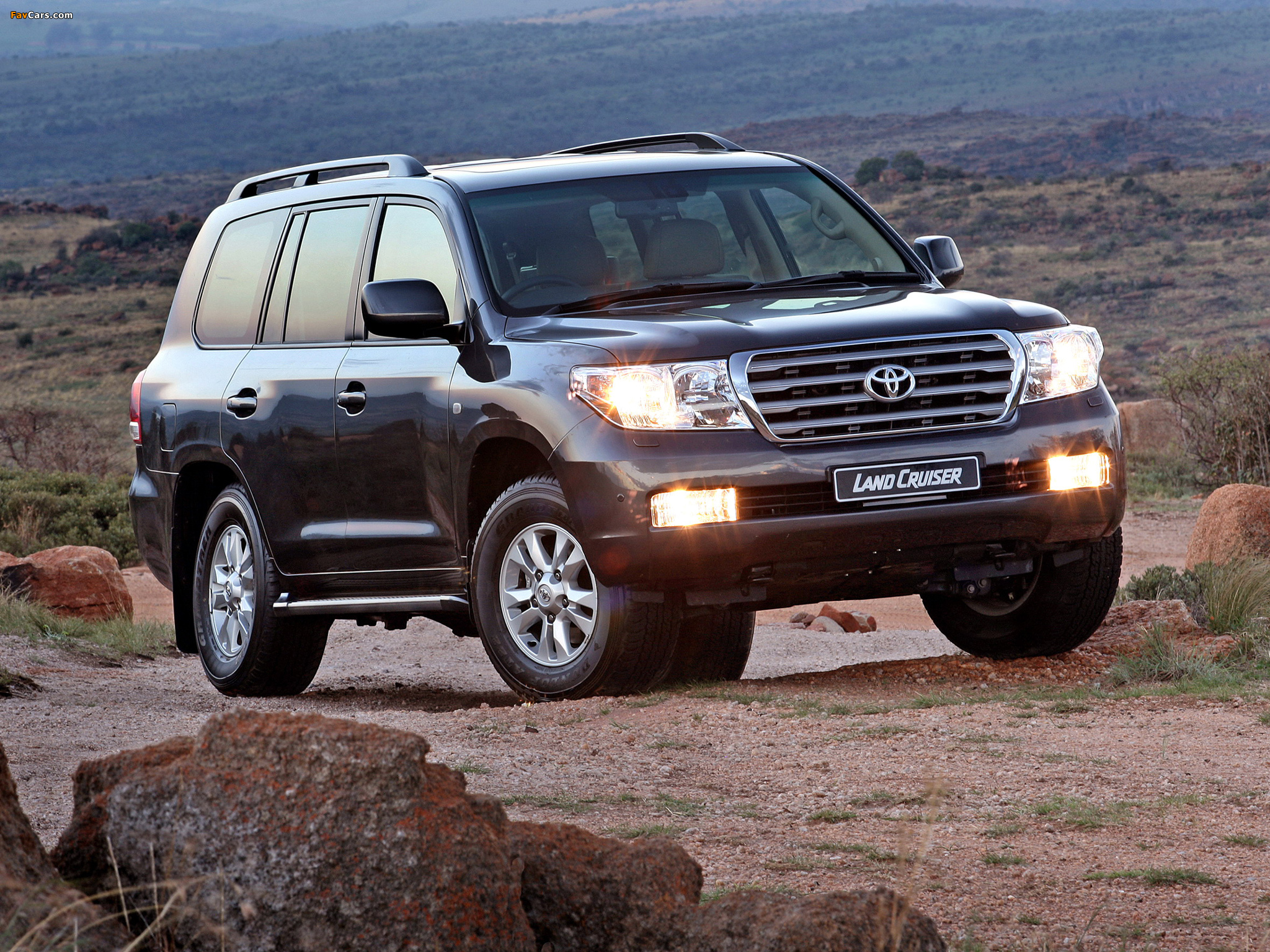 Toyota Land Cruiser 200 Vx Za Spec Uzj200 2007 Wallpapers