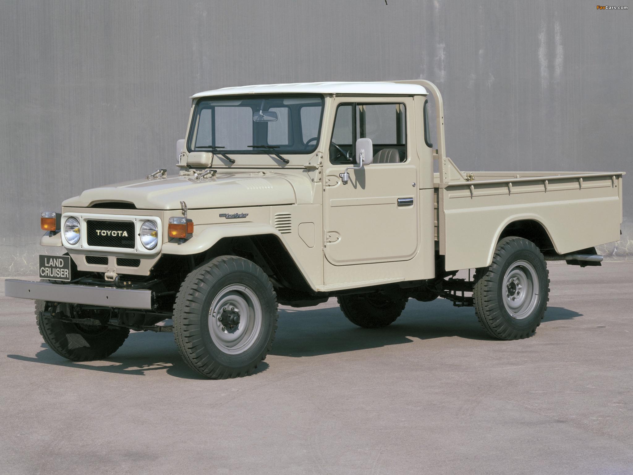 Toyota Land Cruiser Pickup (FJ45L) 1979–84 wallpapers (2048x1536)