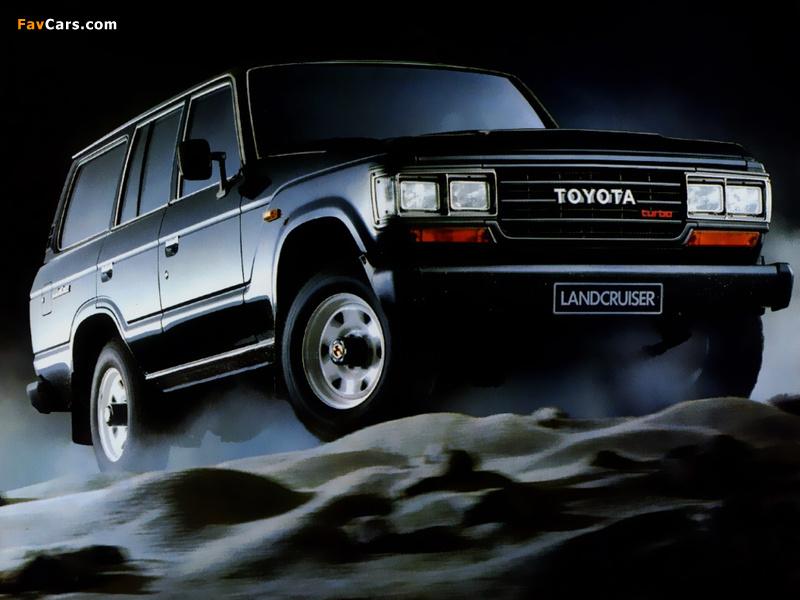 Toyota Land Cruiser 60 Vx Bj61v 1987 89 Wallpapers 800x600
