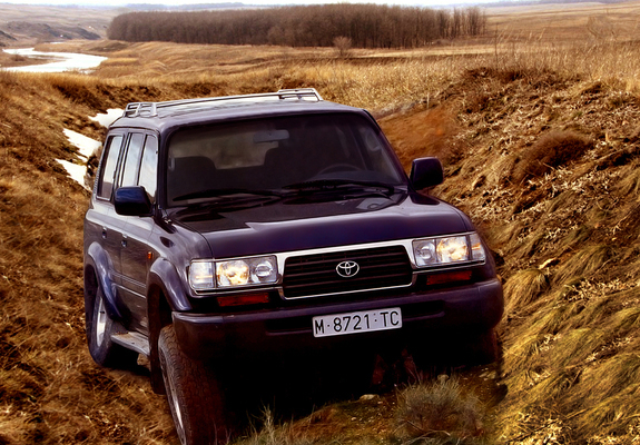 1995 toyota land cruiser 80 vx