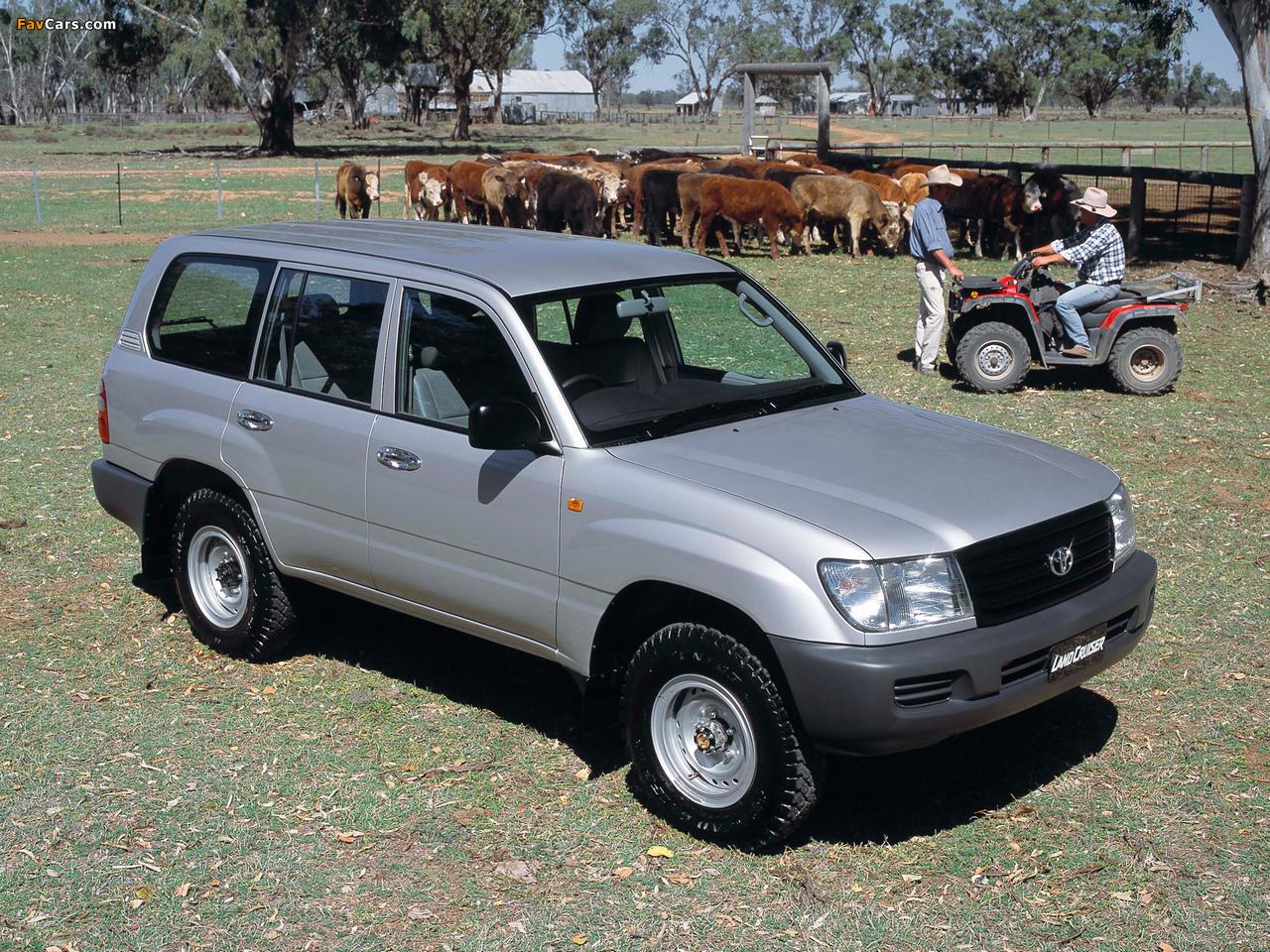 Toyota Land Cruiser 100 Standard Au Spec Hzj105 2002 05