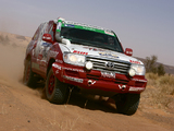 Auto Body Toyota Land Cruiser 100 Dakar Rally Car (J100-101) 2008 wallpapers