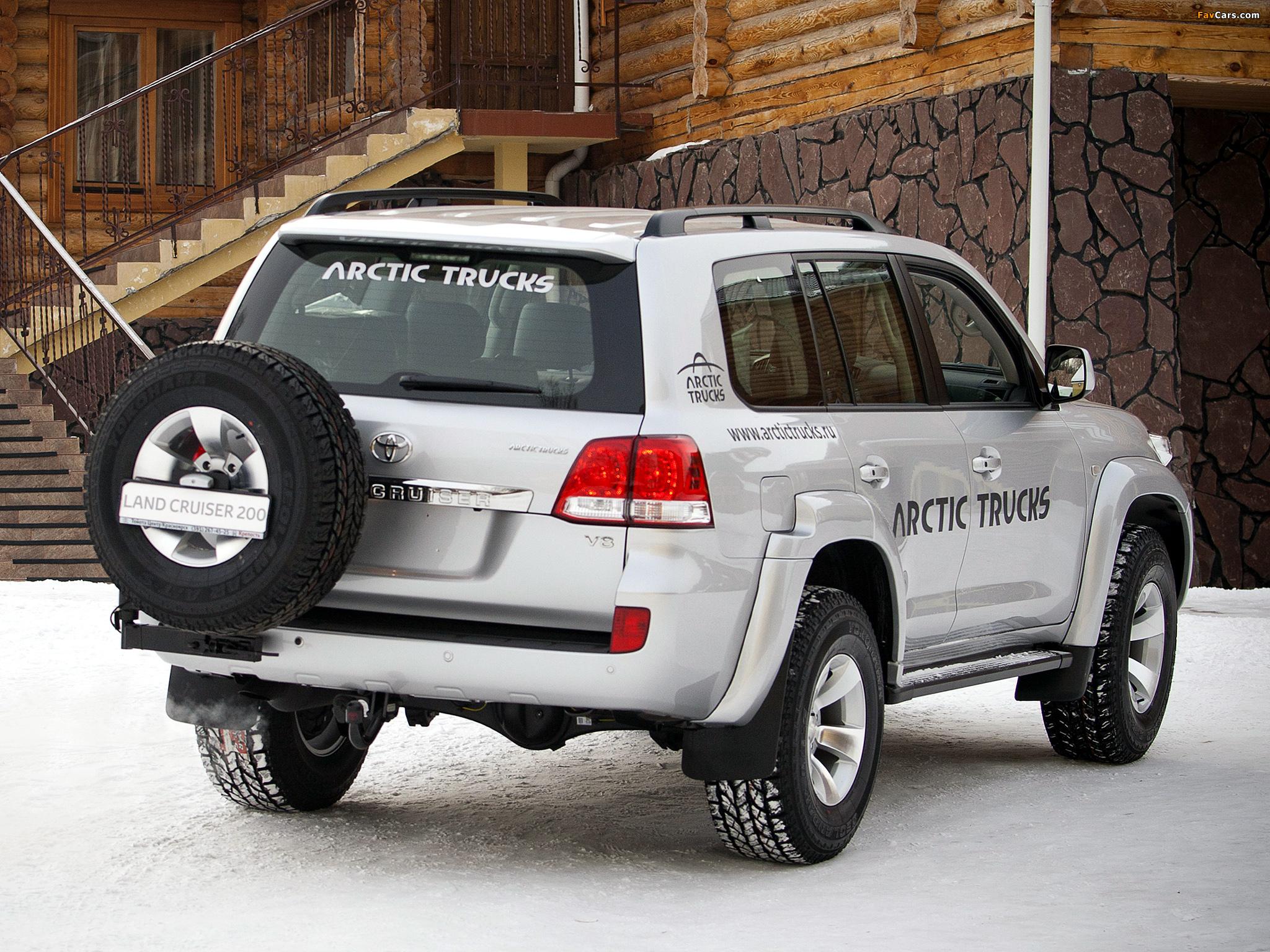 Toyota Land Cruiser - Arctic Trucks Experience