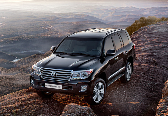 Toyota Land Cruiser 200 Urj200 2012 Wallpapers
