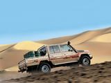 Toyota Land Cruiser Double Cab UAE-spec (J79) 2012 wallpapers