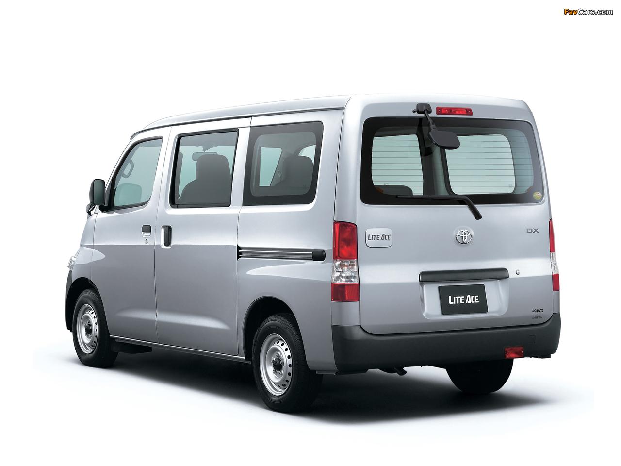 Photos Of Toyota Liteace Van 4wd S402 2010 1280x960