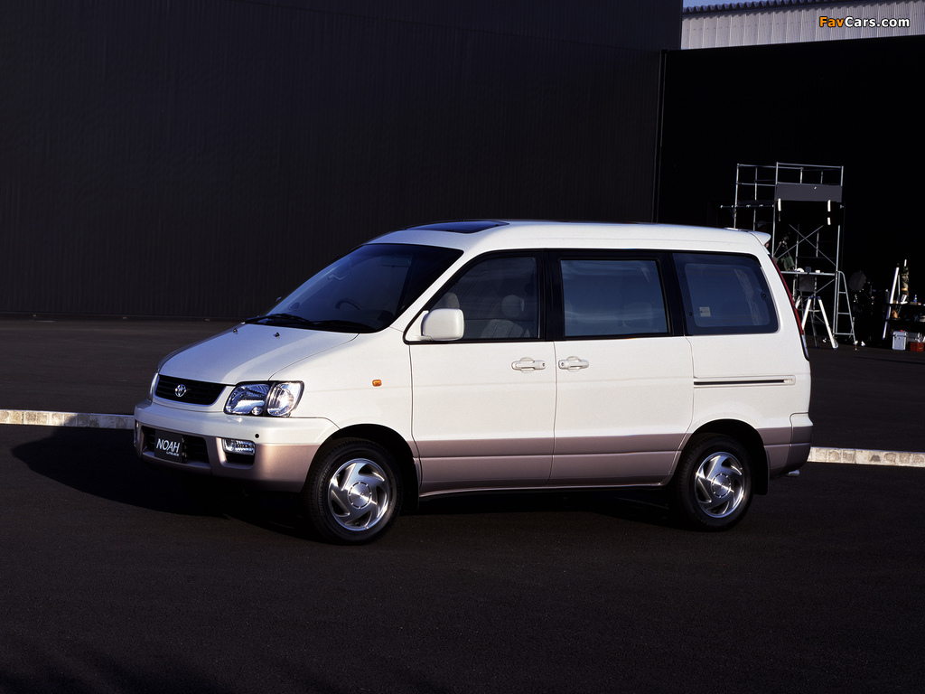 Toyota LiteAce Noah 2WD (R40G) 1996 photos (1024 x 768)