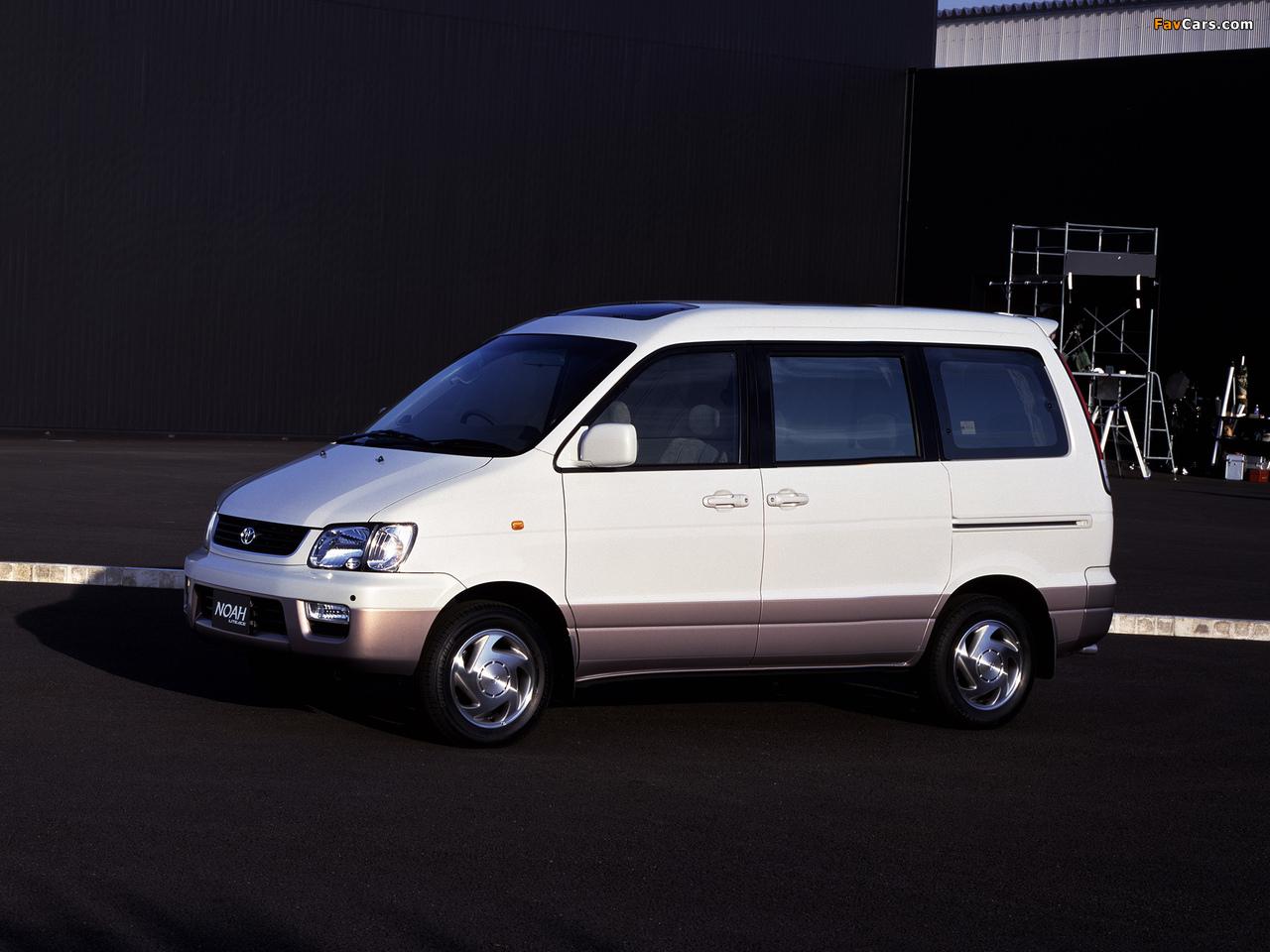 Toyota LiteAce Noah 2WD (R40G) 1996 photos (1280 x 960)
