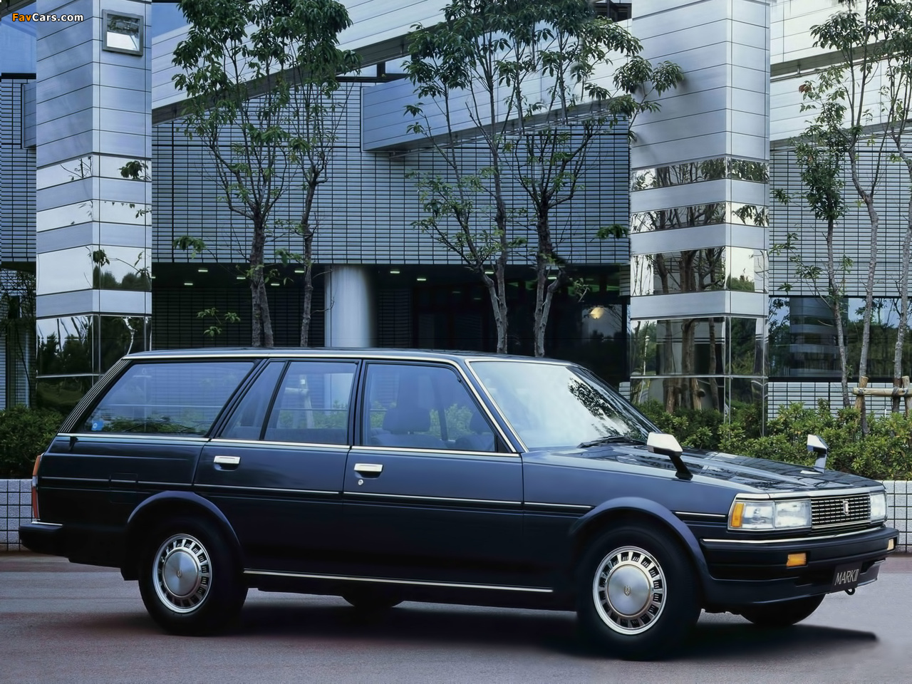 Images of Toyota Mark II Station Wagon (X70) 1984–97 ...