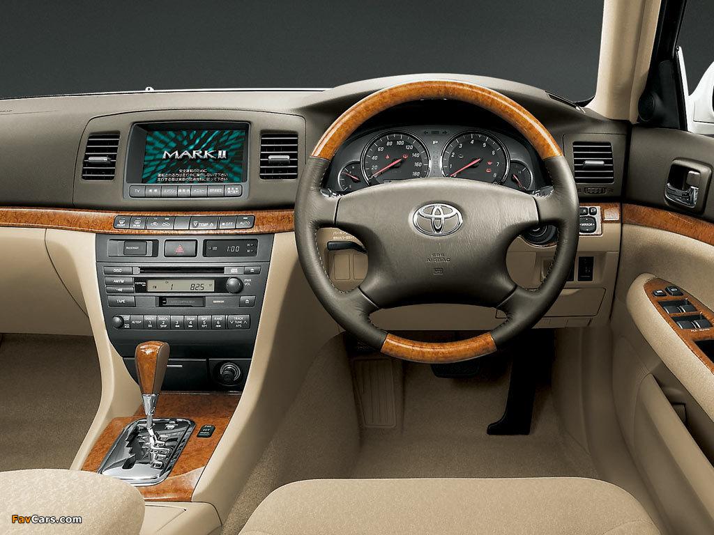 Toyota Марк 2 110 технические характеристики #11