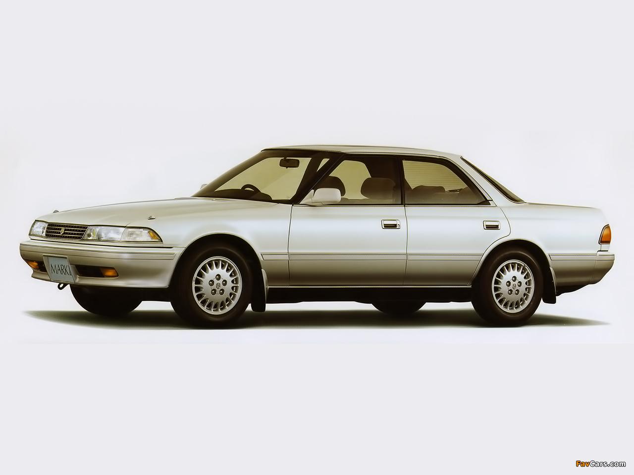 Photos Of Toyota Mark Ii Grande Twin Cam 24 Gx81 1989 92