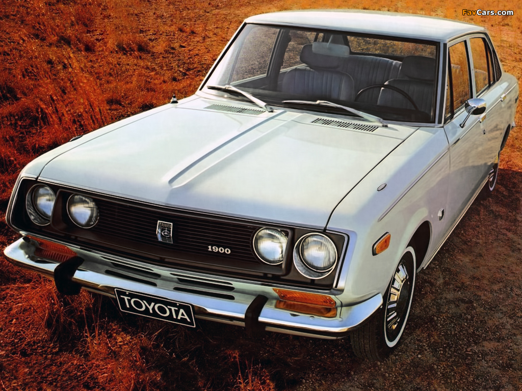 Toyota Corona Mark Ii Sedan T62 T63 1968 72 Images