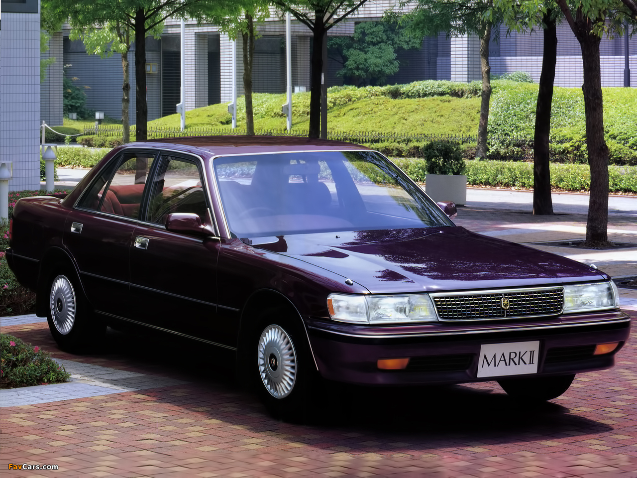 Toyota Mark Ii Sedan X80 1988 96 Wallpapers 1280x960