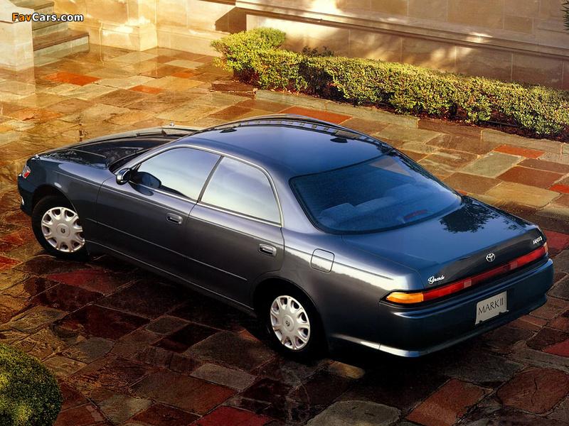 Toyota Mark Ii X90 1992 94 Wallpapers 800x600