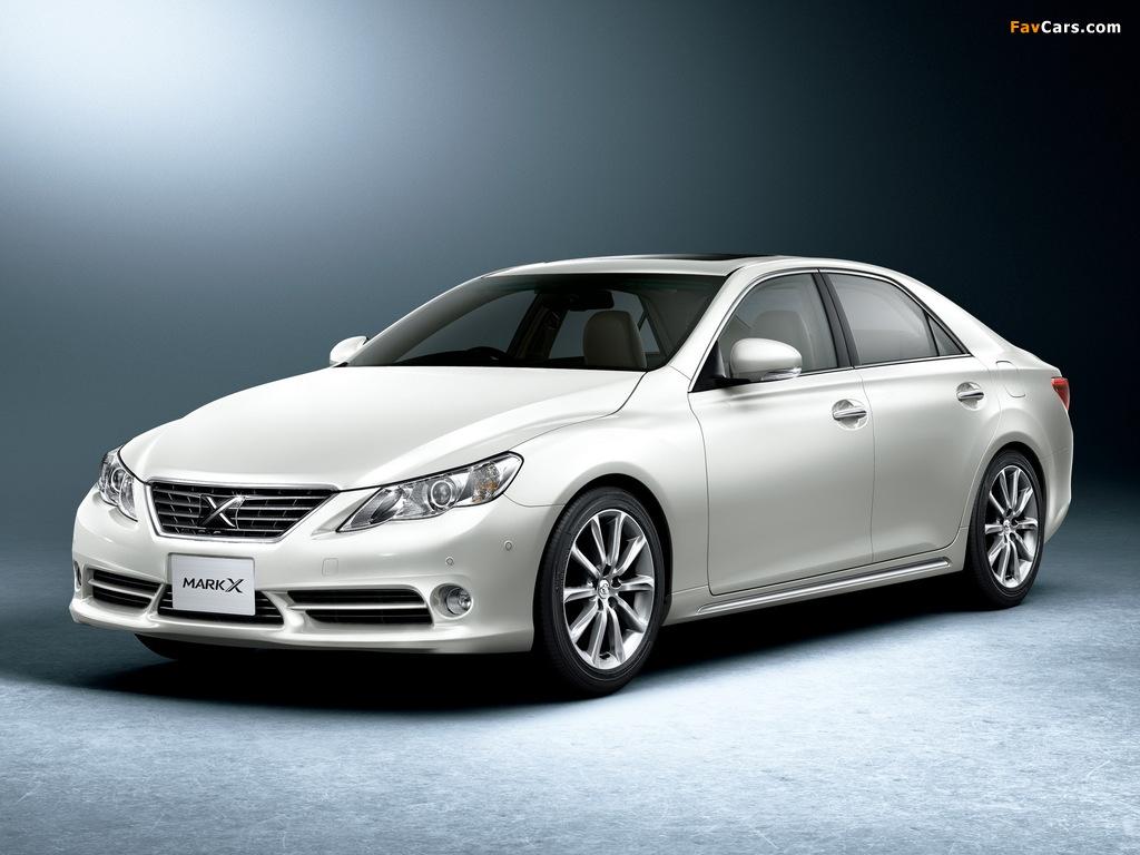 Images of Toyota Mark X Premium (GRX130) 2009 (1024 x 768)